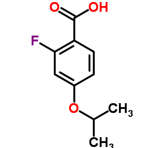 289039-81-2 2-fluoro-4-(1-methylethoxy)benzoic acid