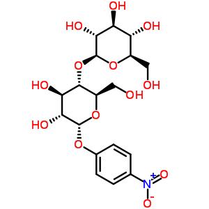 3482-57-3 4-nitrophenyl 4-O-beta-D-glucopyranosyl-beta-D-glucopyranoside