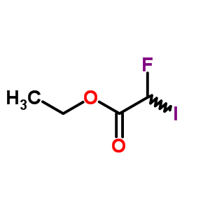 Acetic acid,2-fluoro-2-iodo-, ethyl ester 401-58-1