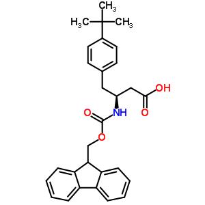 401916-49-2 (3S)-4-(4-tert-butylphenyl)-3-{[(9H-fluoren-9-ylmethoxy)carbonyl]amino}butanoic acid