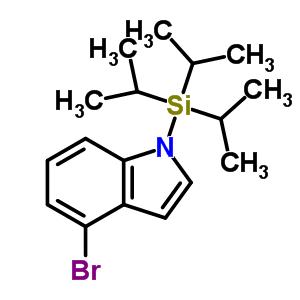 412048-44-3 4-bromo-1-[tris(1-methylethyl)silyl]-1H-indole