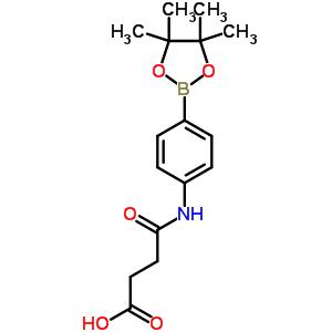 480424-98-4 4-oxo-4-{[4-(4,4,5,5-tetramethyl-1,3,2-dioxaborolan-2-yl)phenyl]amino}butanoic acid