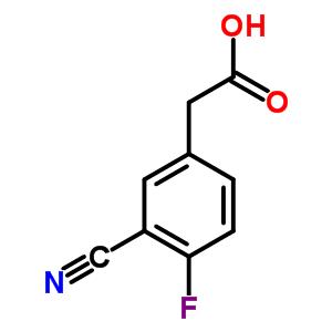 519059-11-1 (3-Cyano-4-fluorophenyl)acetic acid