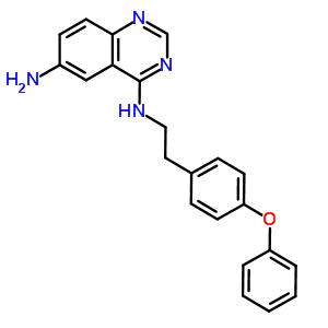 545380-34-5 N~4~-[2-(4-phenoxyphenyl)ethyl]quinazoline-4,6-diamine