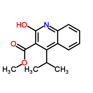 672310-22-4 methyl 4-(1-methylethyl)-2-oxo-1,2-dihydroquinoline-3-carboxylate