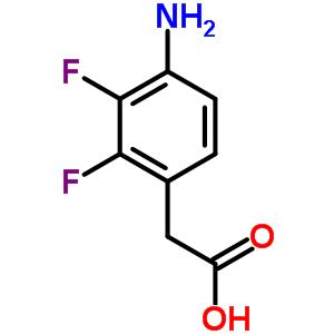 835912-66-8 (4-amino-2,3-difluorophenyl)acetic acid