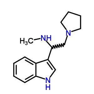 [1-(1H-吲哚-3-基)-2-吡咯烷-1-基-乙基]-甲胺 885951-05-3