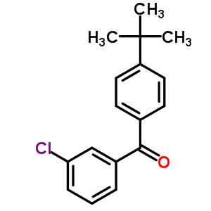 4-tert-Butyl-3'-chlorobenzophenone 93977-28-7