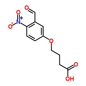 4-(3-FORMYL-4-NITRO-PHENOXY)-BUTYRIC ACID 94193-36-9