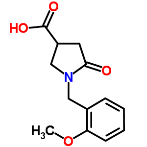 352208-42-5 1-(2-methoxybenzyl)-5-oxopyrrolidine-3-carboxylic acid