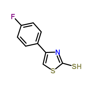 42365-73-1 4-(4-fluorophenyl)-1,3-thiazole-2-thiol