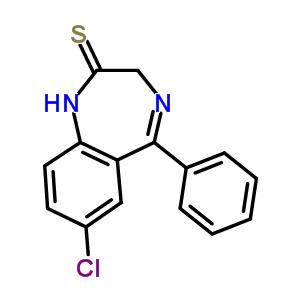 7-氯-1,3-二氢-5-苯基-2H-1,4-苯并二氮杂-2-硫酮 4547-02-8