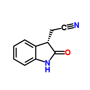 54744-66-0 (2-oxo-2,3-dihydro-1H-indol-3-yl)acetonitrile