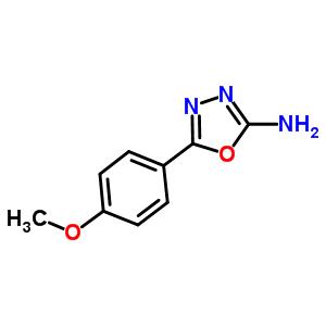5711-61-5 5-(4-methoxyphenyl)-1,3,4-oxadiazol-2-amine
