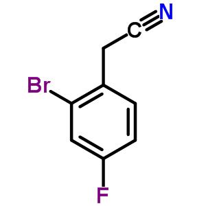 61150-58-1 (2-bromo-4-fluorophenyl)acetonitrile