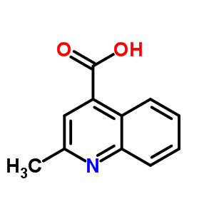 634-38-8 2-methylquinoline-4-carboxylic acid
