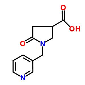 842958-29-6 5-Oxo-1-(pyridin-3-ylmethyl)pyrrolidine-3-carboxylic acid