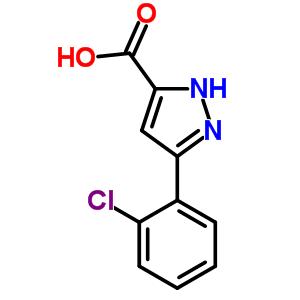 890621-13-3 3-(2-chlorophenyl)-1H-pyrazole-5-carboxylic acid