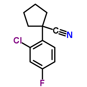 214262-92-7 1-(2-chloro-4-fluorophenyl)cyclopentanecarbonitrile