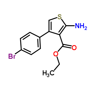 306934-99-6 ethyl 2-amino-4-(4-bromophenyl)thiophene-3-carboxylate