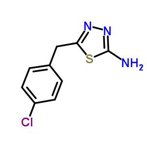 39181-43-6 5-(4-chlorobenzyl)-1,3,4-thiadiazol-2-amine