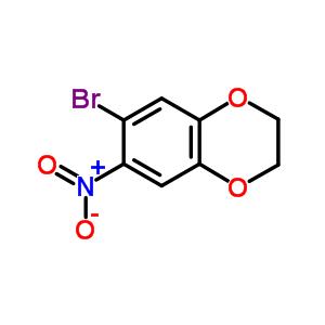 59820-92-7 6-bromo-7-nitro-2,3-dihydro-1,4-benzodioxine
