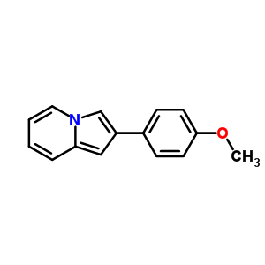 7496-82-4 2-(4-methoxyphenyl)indolizine