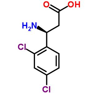 (S)-3-氨基-3-(2,4-二氯苯基)丙酸 757937-66-9