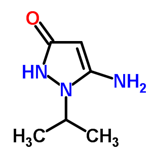 78317-68-7 5-amino-1-(propan-2-yl)-1,2-dihydro-3H-pyrazol-3-one