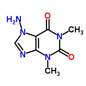 81281-58-5 7-amino-1,3-dimethyl-3,7-dihydro-1H-purine-2,6-dione