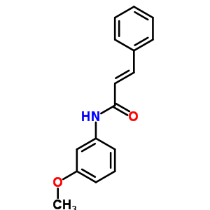 (2E)-N-(3-Methoxyphenyl)-3-phenyl-2-propenamide 127033-74-3