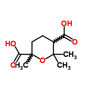 18674-61-8 2,6,6-trimethyltetrahydro-2H-pyran-2,5-dicarboxylic acid