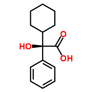 (R)-Cyclohexyl-hydroxy-phenyl-acetic acid 20585-39-1