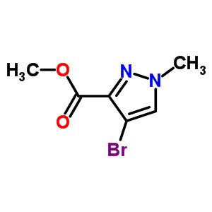4-溴-1-甲基-1H-吡唑-3-羧酸甲酯 211738-66-8