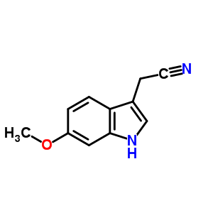 23084-35-7 6-Methoxyindole-3-acetonitrile