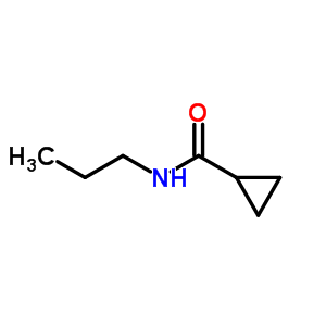 N-propylcyclopropane carboxamide 26389-59-3