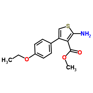 350989-81-0 methyl 2-amino-4-(4-ethoxyphenyl)thiophene-3-carboxylate