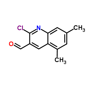 482639-32-7 2-Chloro-5,7-dimethylquinoline-3-carbaldehyde