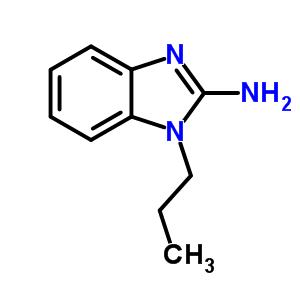 1-Propyl-1H-benzoimidazol-2-ylamine 57667-50-2
