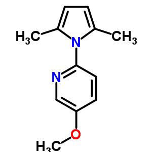 638352-78-0 2-(2,5-dimethyl-1H-pyrrol-1-yl)-5-methoxypyridine