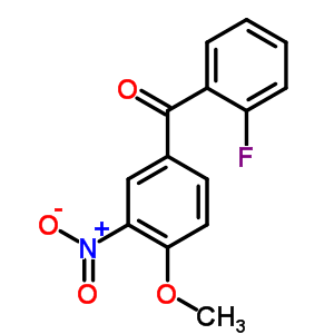 66938-39-4 (2-fluorophenyl)(4-methoxy-3-nitrophenyl)methanone