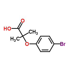 7472-69-7 2-(4-bromophenoxy)-2-methylpropanoic acid