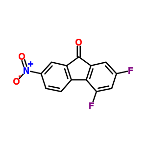 3127-59-1 2,4-difluoro-7-nitro-9H-fluoren-9-one