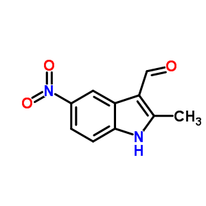 3558-17-6 2-methyl-5-nitro-1H-indole-3-carbaldehyde