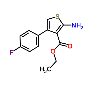 35978-33-7 ethyl 2-amino-4-(4-fluorophenyl)thiophene-3-carboxylate