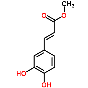 3843-74-1 methyl 3-(3,4-dihydroxyphenyl)prop-2-enoate