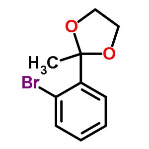50777-64-5 2-(2-bromophenyl)-2-methyl-1,3-dioxolane