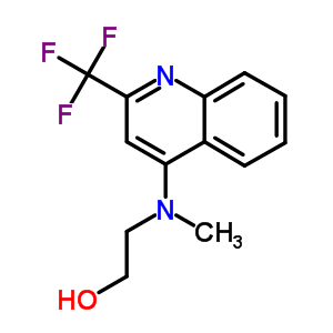 519056-52-1 2-{methyl[2-(trifluoromethyl)quinolin-4-yl]amino}ethanol