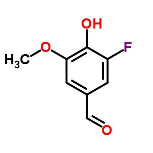 3-氟-4-羟基-5-甲氧基苯甲醛 79418-78-3