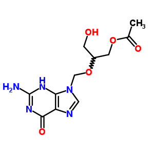 88110-89-8 2-[(2-amino-6-oxo-3,6-dihydro-9H-purin-9-yl)methoxy]-3-hydroxypropyl acetate
